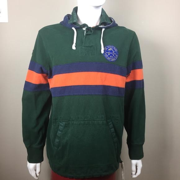 best sneakers 1e5e8 510d0 ireland ralph lauren hoodie blue and orange 74992 8f14b